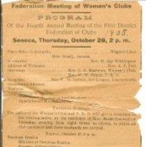 Image of FWC - program- 1905