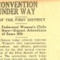 Image of FWC Convention 1955