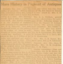 Image of FWC - Pageant of antiques