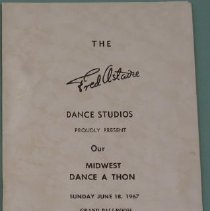 Image of Fred Astaire Program