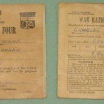 Image of War Ration Book 3