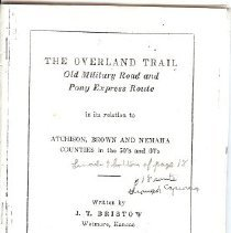 Image of The Overland Trail
