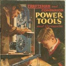 Image of Catalog - Sears Roebuck and Company Power Tools
