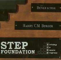 Image of STEP Foundation Plaque