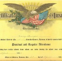 Image of Attendance Certificate