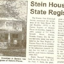 Image of Stein House Collection
