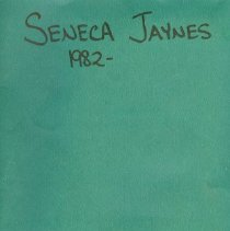 Image of Seneca Jaynes Record Book