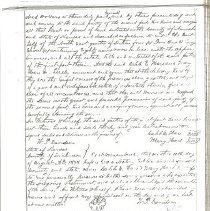 Image of Hale Family Deed - 1877