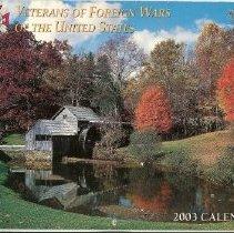 Image of VFW Calendar - 2003