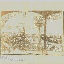 Image of German artist drawing-Steinlag