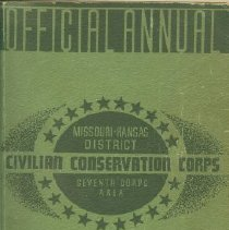 Image of Official Annual CCC '37
