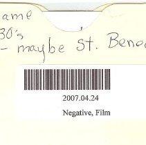 Image of Neg, Film St. Benedict