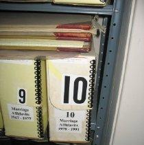 Image of Application, License - 1988 Marriage Affidavits