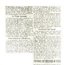 Image of Railroad newspapter item