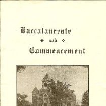 Image of Program: Baccalaureate 1946 SH