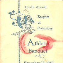 Image of Program - Seneca 4th annual Knights Athletic Banquet,