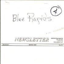 Image of Blue Rapids newsletter