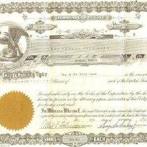 Image of Stock Certificate, Seneca Golf