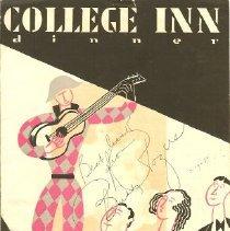 Image of College Inn Menu