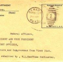 Image of Envelope - PO Dept