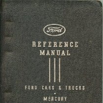 Image of Book, Instruction - Ford Car & Truck Reference Manual