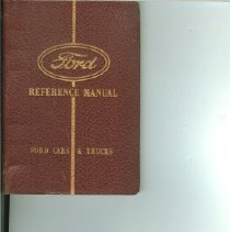 Image of Ford Car Reference Manual