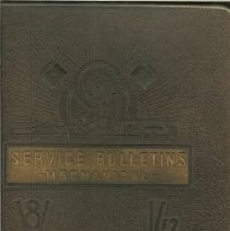 Image of Book, Instruction - Ford Service Bulletins- Mechanical 1938