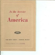 Image of Ford Service for America
