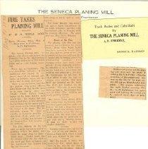 Image of Documents - Seneca Planing Mill