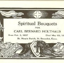 Image of Holthaus obituaries