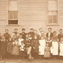 Image of Moodyville School, -Lauer