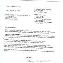 Image of IRS correspondence