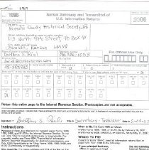 Image of IRS return  2/8/07