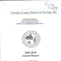 Image of Records - Annual report for 2009/10