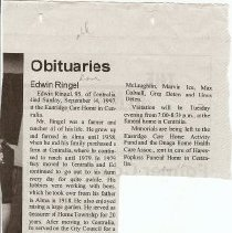 Image of Edwin Ringle obit