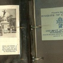 Image of Knights of Col. minute bk 1922
