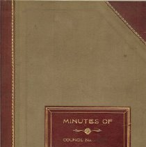 Image of 1914 Minutes Book