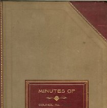 Image of Book - 1918 Minutes Book