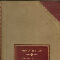 Image of Minutes Book 1927-29