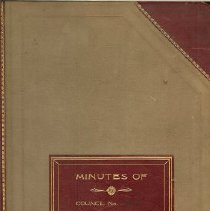 Image of Minutes Book 1931-1933