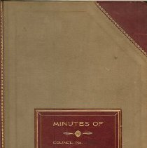 Image of Minutes Bank 1936-38