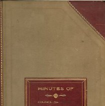 Image of Minutes Book 1938-1941
