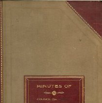Image of Book - Minutes book 1941- 1943