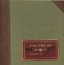 Image of Minutes book 1946-1951