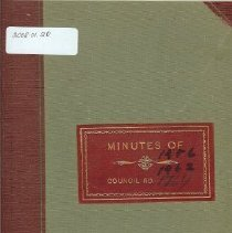 Image of Minutes Book 1956-62
