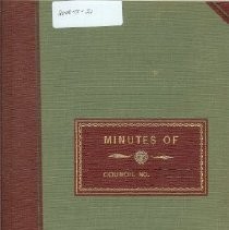 Image of Minutes Book 1962-66