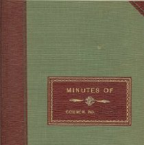 Image of Minutes Book 1971-76