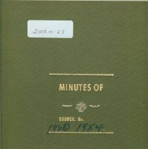 Image of Minutes Book 1980-84