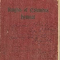 Image of Book - Knights of Columbus Hymnal