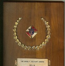 Image of KOC Virgil C. Dechant Award